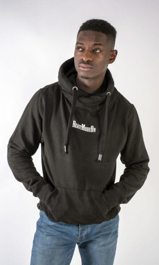 Beast Mode On Hoodie Black
