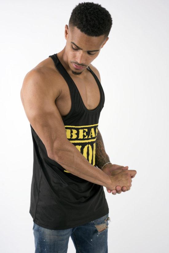 Beast Mode On Black Vest