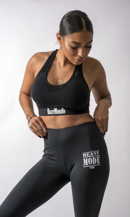 Beast Mode On Ladies gym wear