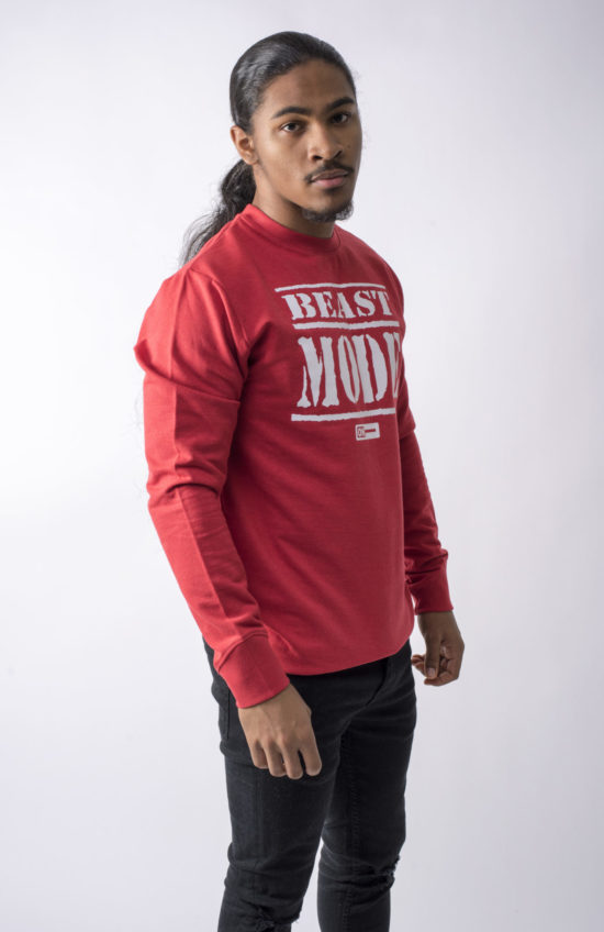 Beast Mode On Jumper Red