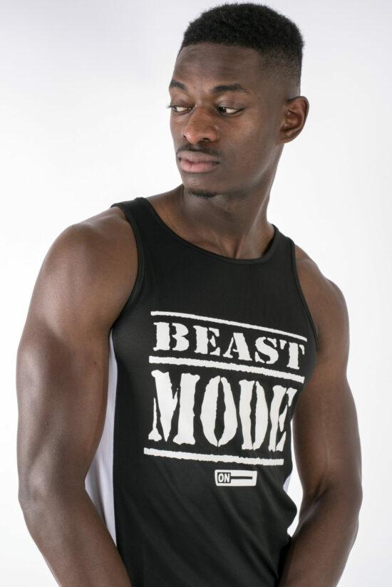 Beast Mode On Mens Vest